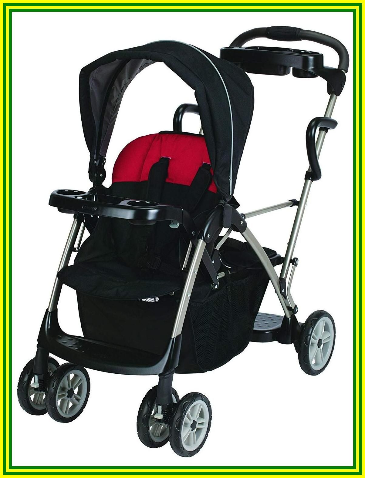 91 reference of graco double stroller red and brown in