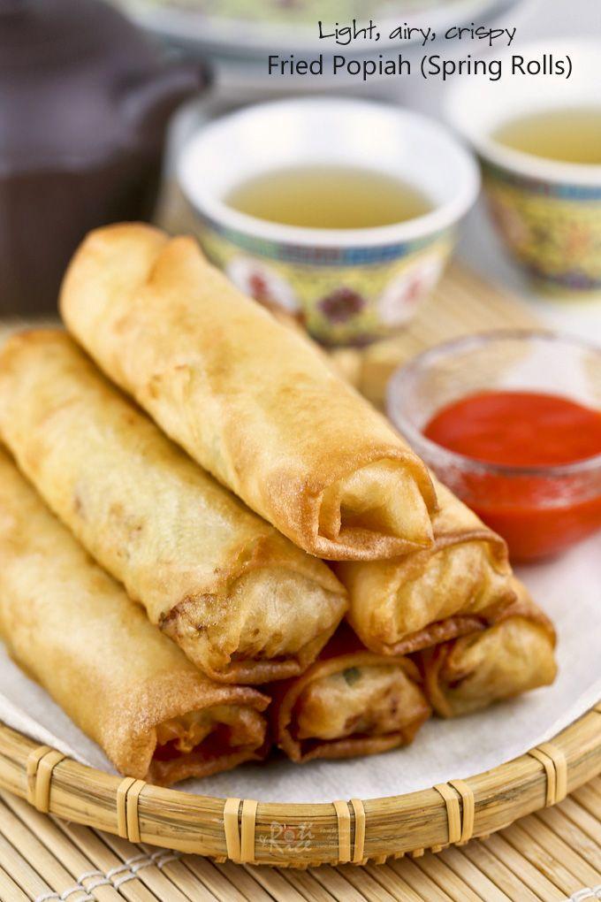 Fried Popiah (Spring Rolls) | Recipe | Spring rolls ...