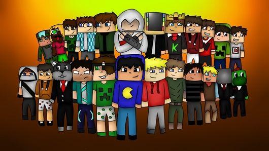 Minecraft Skins De Youtubers Brasileiros Pesquisa Google - Skins para minecraft youtubers