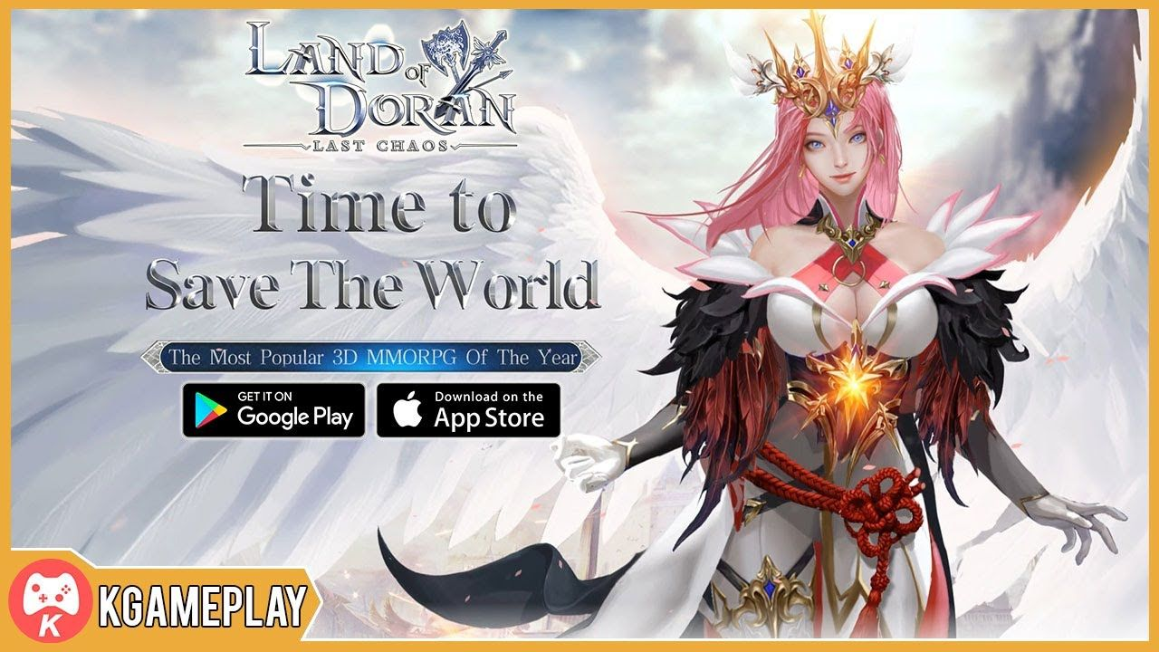 Land of Doran Gameplay MMORPG Open World Android iOS Anime