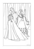 35 Frozen Printable Coloring Pages For Kids Find On Book Thousands Of