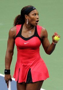 Nike Serena Williams Gorgeous Hot Pink Tennis Dress