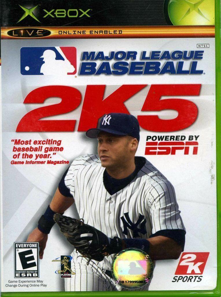 ESPN Major League Baseball 2K5 espnbaseball (With images