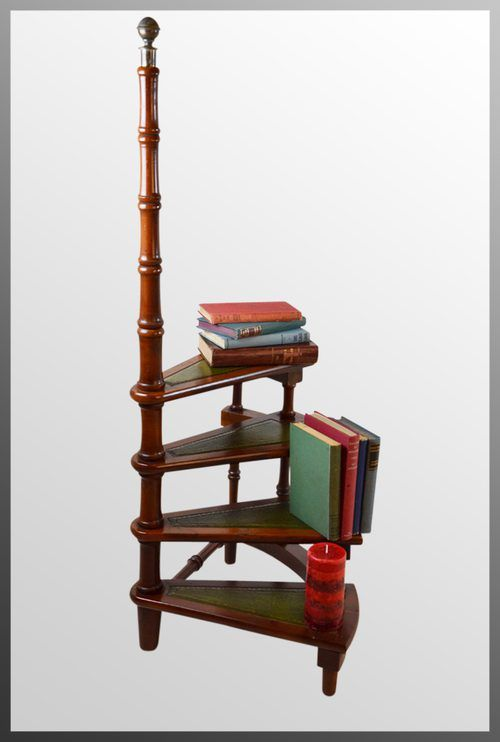 Yew Library Steps Circular Step Ladder Step Ladders Home Library Design Wood Step Stool