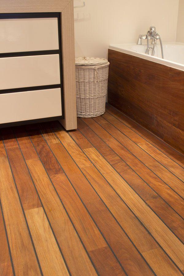 Retrouvez tous les conseils du0027Emois et Bois pour un parquet adapté à - teck salle de bain sol
