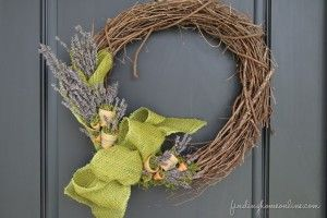 images of summer wreaths | Summer Front Porch Decorating - Finding Home
