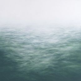 oil on panel MaryBeth Thielhelm, '(Grey Indigo) Sage Sea,' 2014, Sears-Peyton Gallery