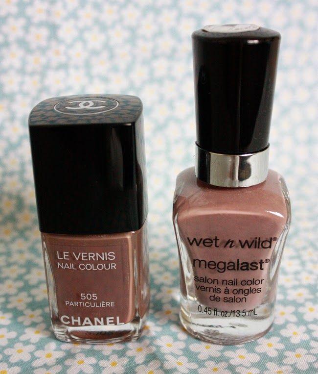 Chanel 505 Particulière Wet\' N Wild Wet Cement | Nail Polish | Pinterest
