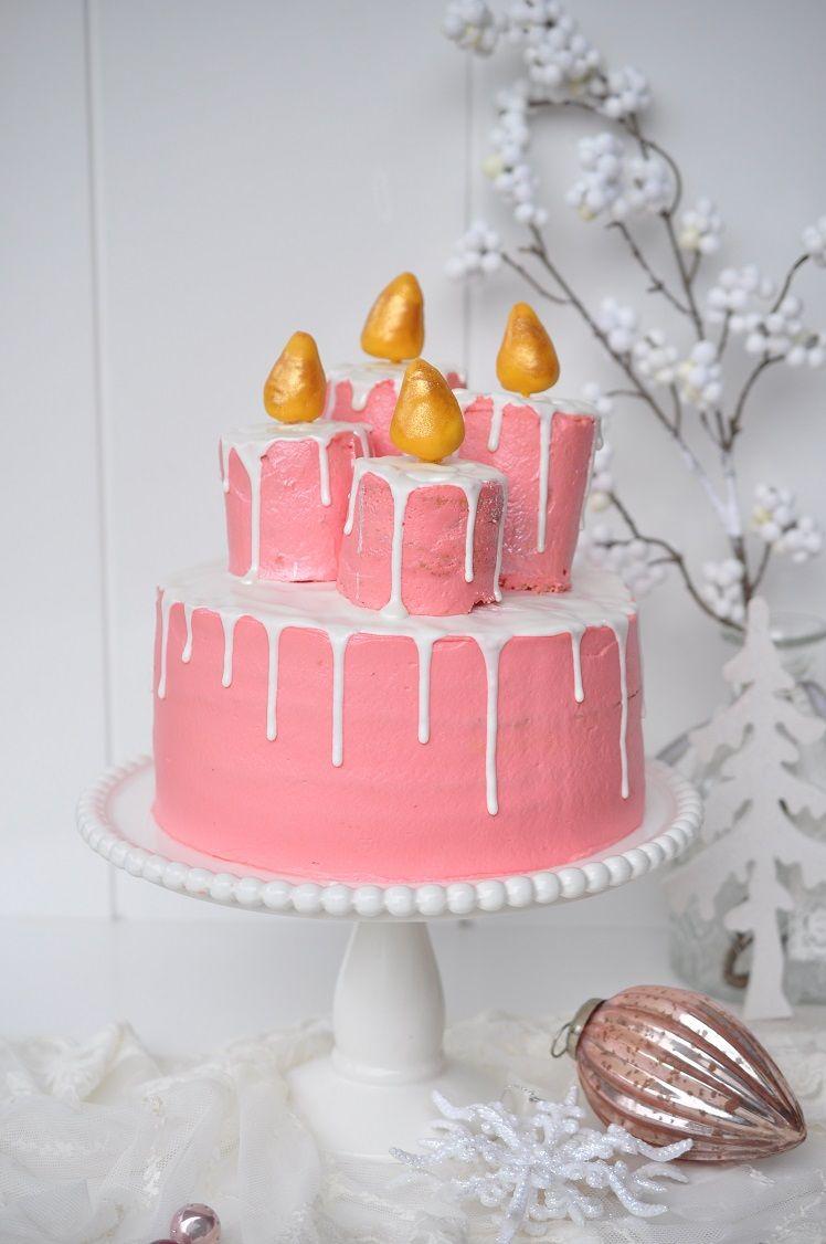 Granatapfel Torte Mit Kerzen Kuchen Ideen Fruchtige Torten