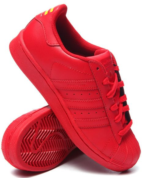 23fe737113f4 Pharrell x Adidas Superstar Supercolor! Red Adidas Shoes