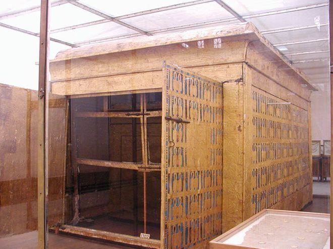 King Tut's shrines