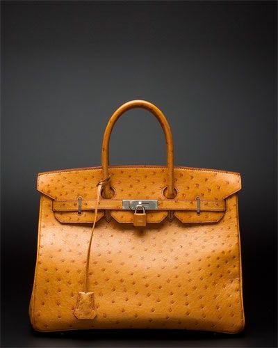 Hermes Ostrich bag only $24,999.