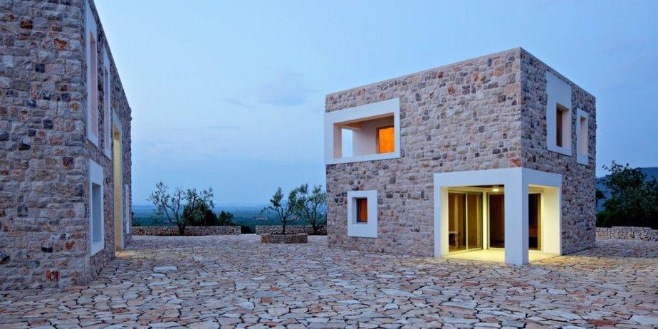 Merveilleux Home Designs. DVA Arhitekta Bijaca Stone House: Pedra Concepção Exterior.  Casa De Pedra