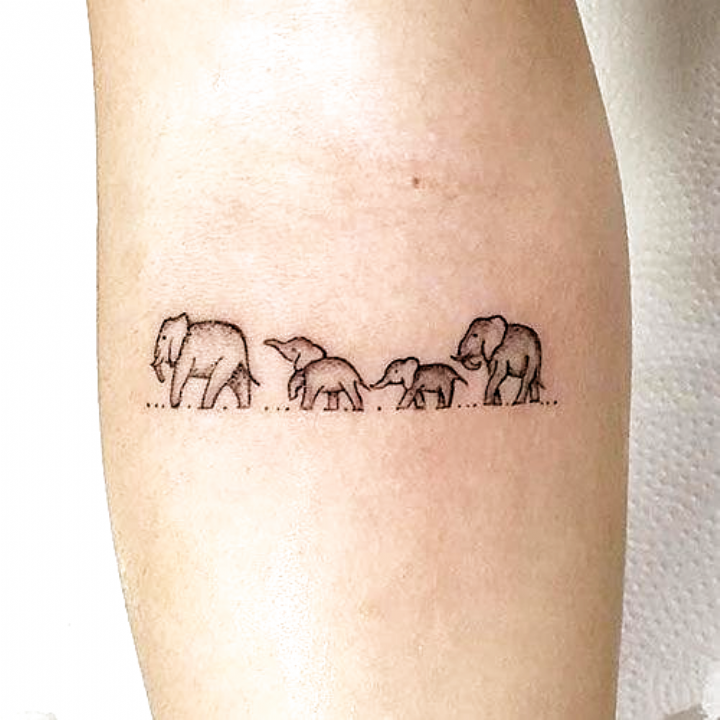 Adorable Baby Elephant Tattoo Ideas Elephant Tattoos Cute Elephant Tattoo Elephant Tattoo Meaning