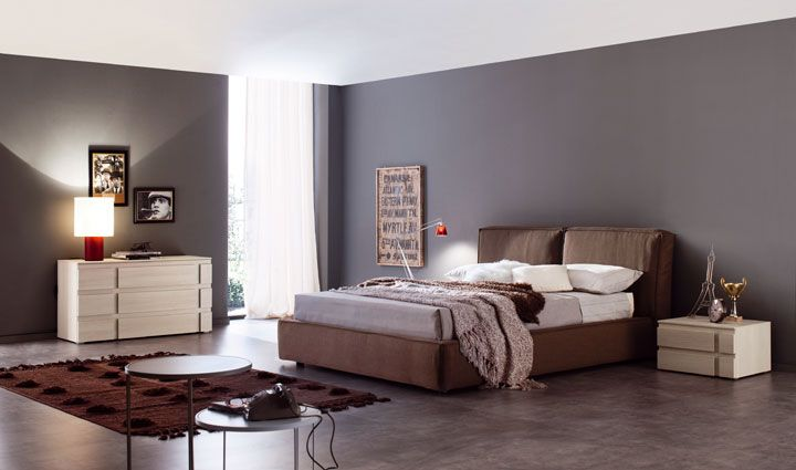 Mobili Spagnol ~ Contentori gruppo nice letto beauty in tessuto by spagnol mobili
