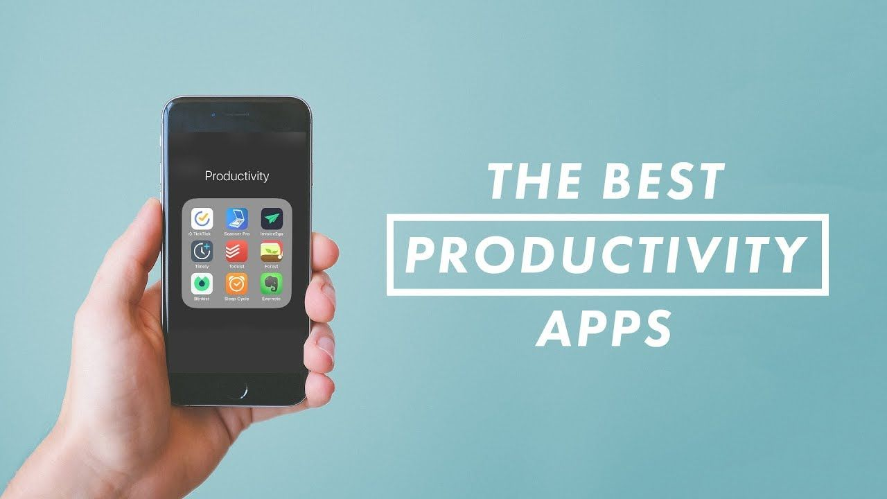 The Best Productivity Apps for iPhone / Android // Vlog