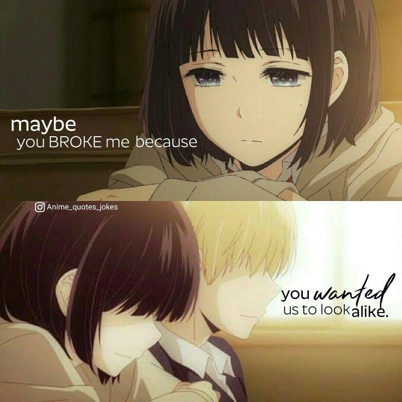 Kuzu no honkai Hanabi Animequotes Anime quote