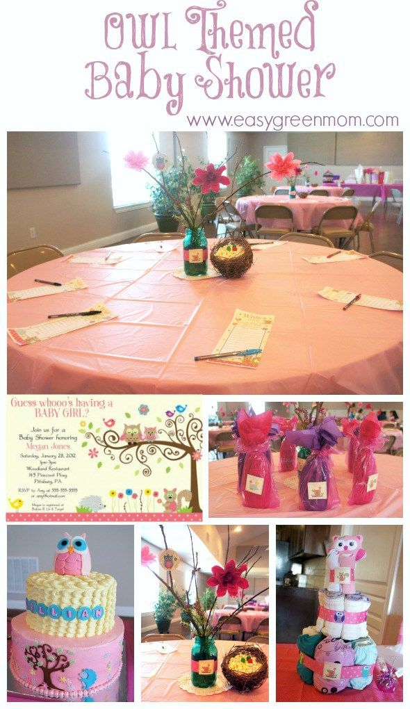 Owl Themed Baby Shower Decorations And Diy Ideas Printable Door