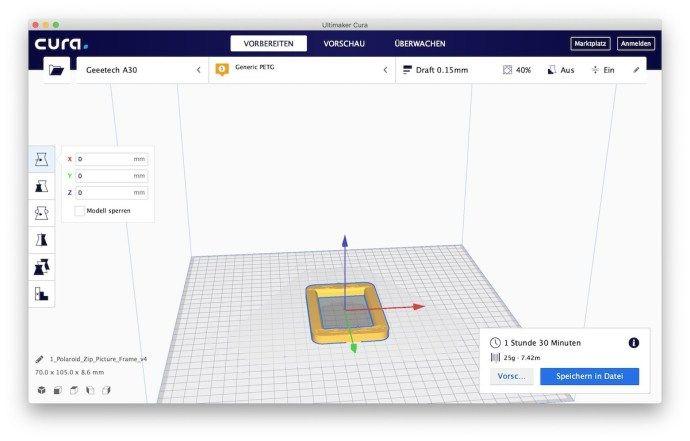 3DDrucker Slicer Ultimaker CURA 4.0 veröffentlicht 3d