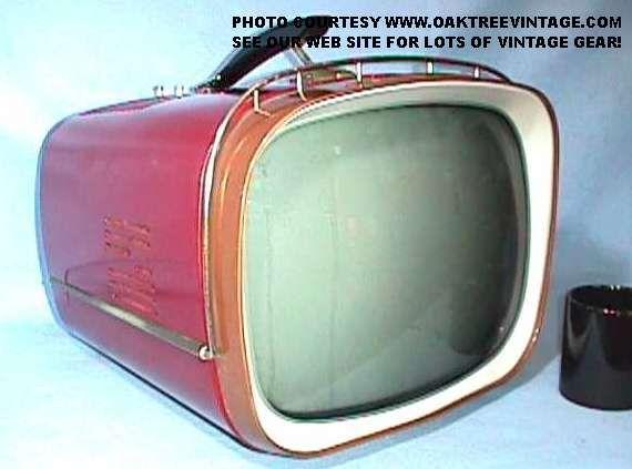 1950's portable TV