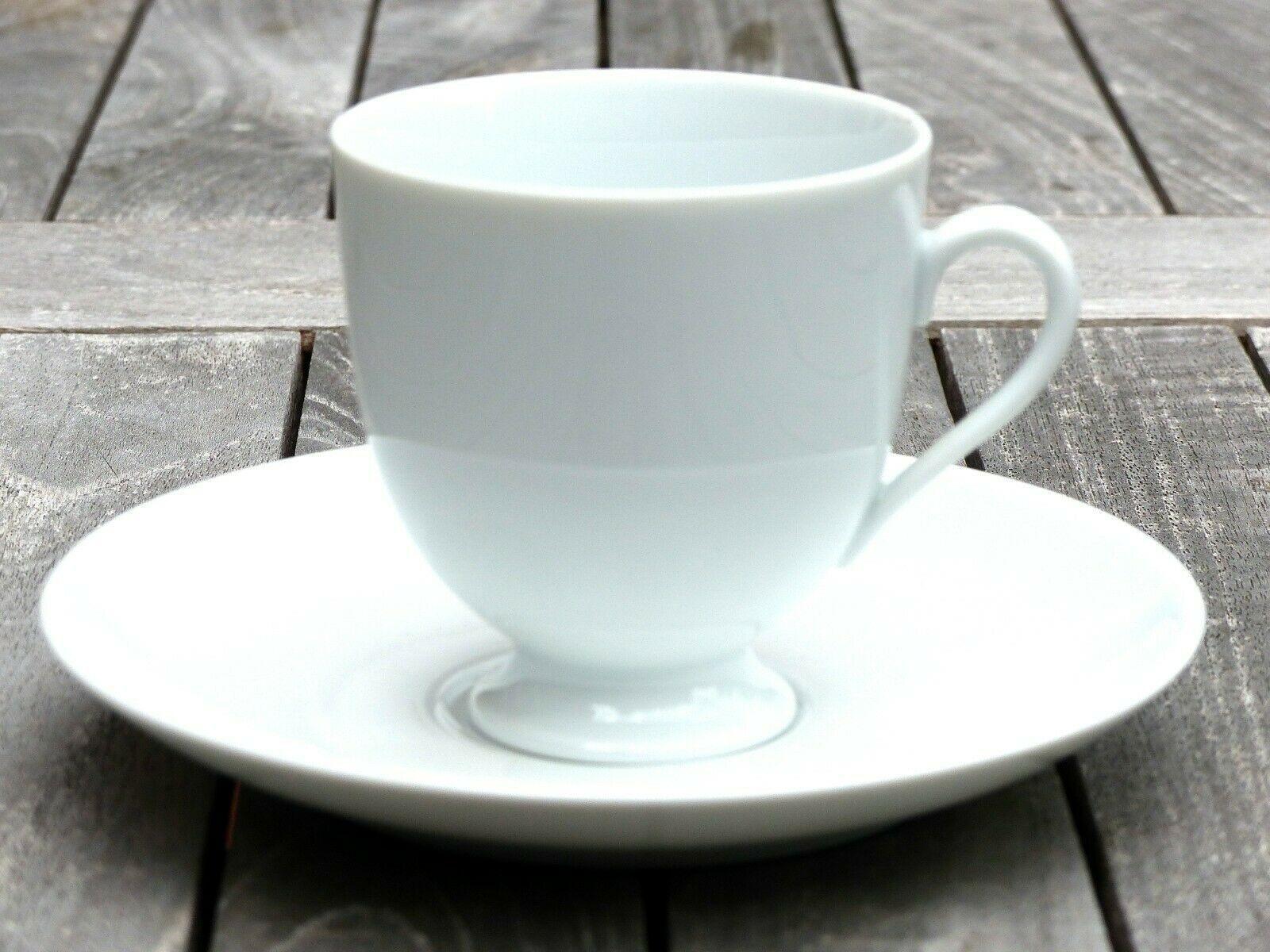 Kaffeetasse Fürstin weiß Fürstenberg NEU! 70 % unter UVP Ergänzung TOP!