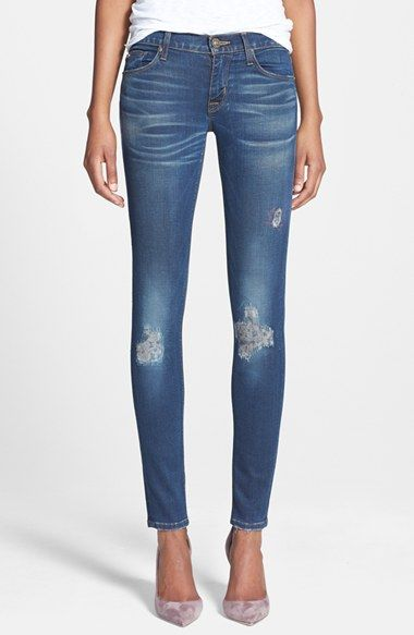 Hudson Jeans 'Krista' Super Skinny Jeans (Addicted) available at #Nordstrom
