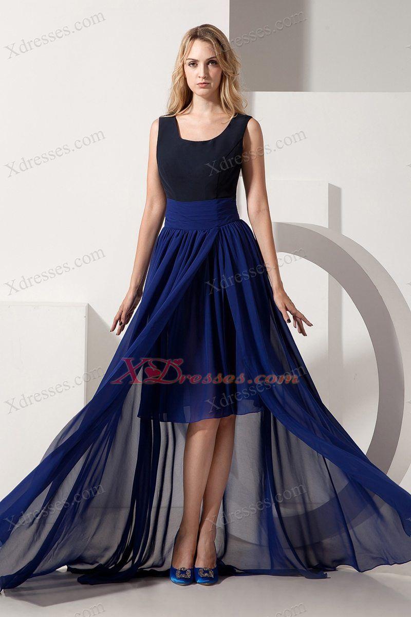 Empire Chiffon Prom Dress