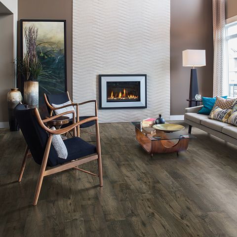 With A Warm Toned Floor Like Pergo Max Smoked Chestnut It