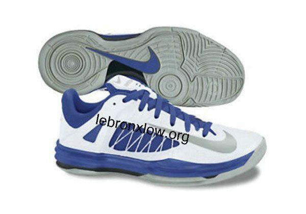 Nike Lunar Hyperdunk Low 2012 White Royal Metallic Silver Spring 2013