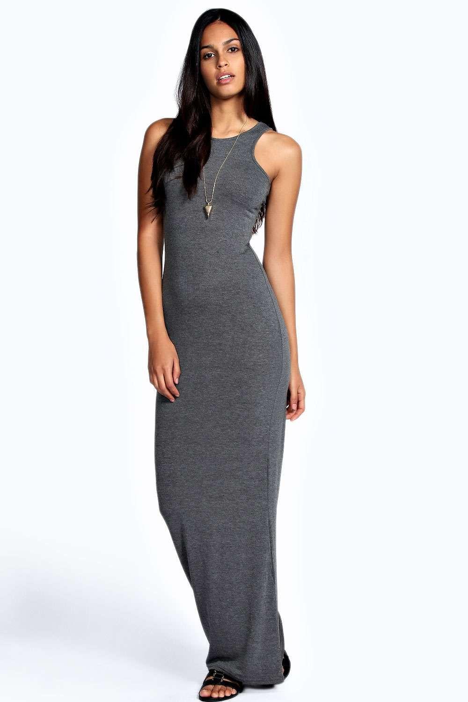 c83c19aeb209 Racer Front Sleeveless Maxi Dress | Shopping list | Dresses, Floaty ...