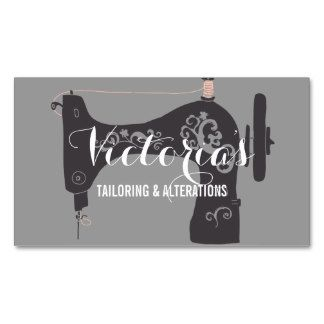 Vintage alteration seamstress tailor business card my store vintage alteration seamstress tailor business card reheart Image collections