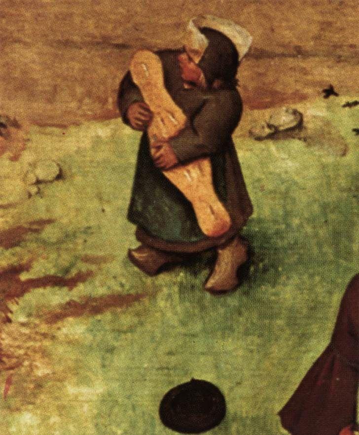BRUEGEL, Pieter the Elder, Children's Games (detail), 1559-60