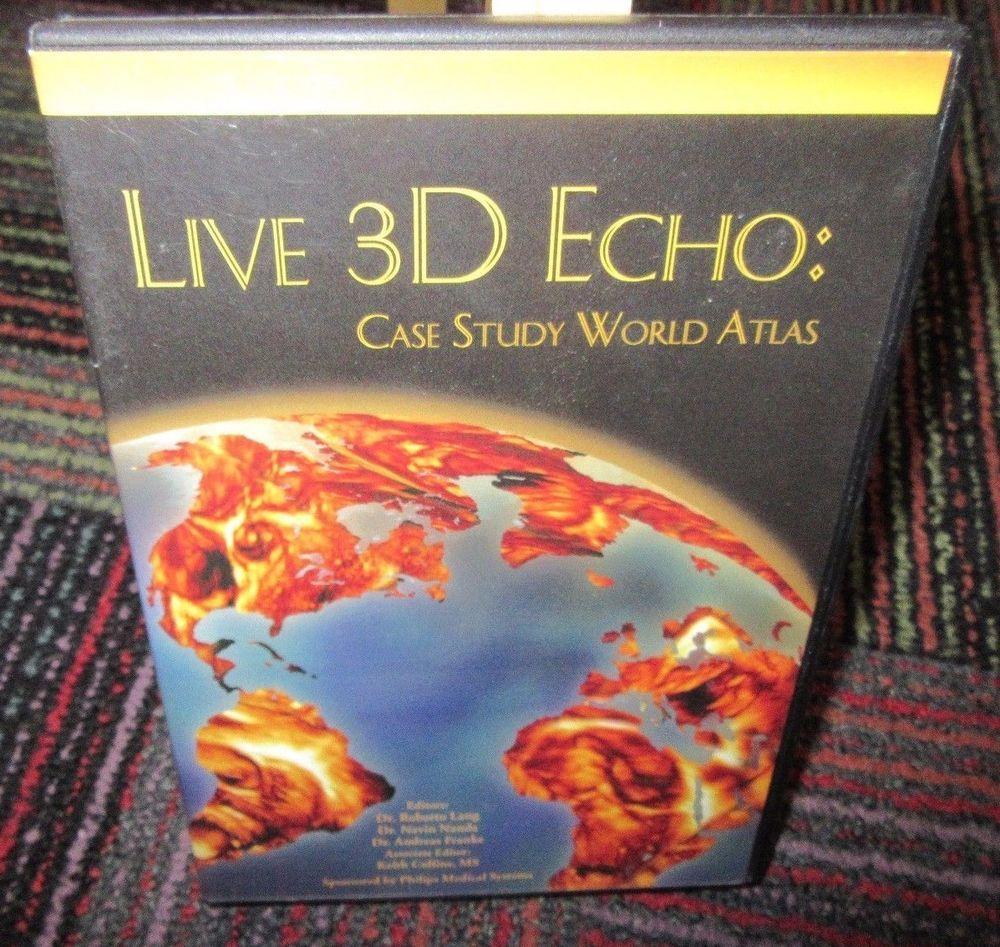 LIVE 3D ECHO: CASE STUDY WORLD ATLAS DVD, 3D ANATOMY IMAGING, CASE ...