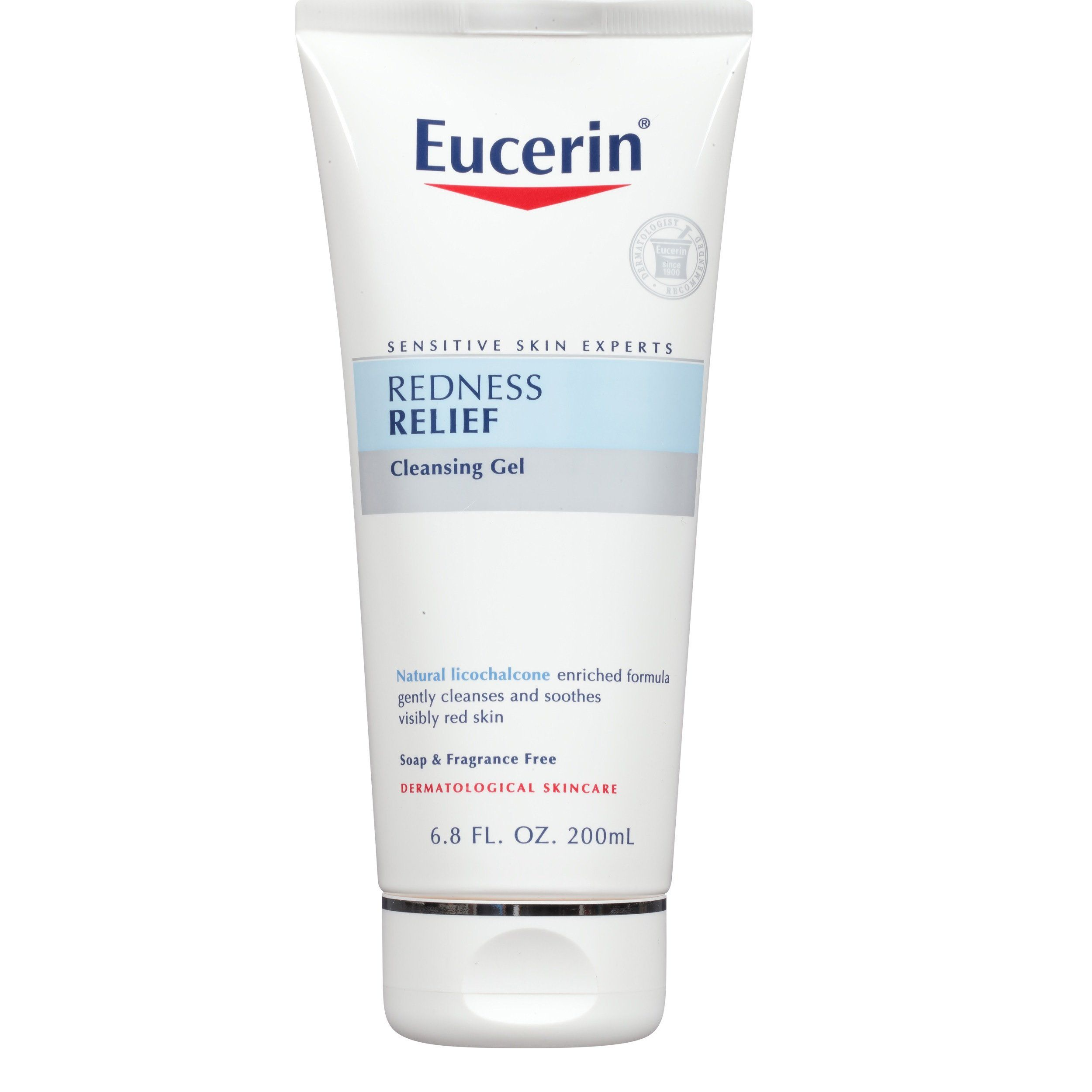 Eucerin Sensitive Skin Redness Relief Cleansing Gel 6 8 Ounce Gentle Soap Free Gel Removes Makeup An Combination Skin Face Wash Combination Skin Skin Redness