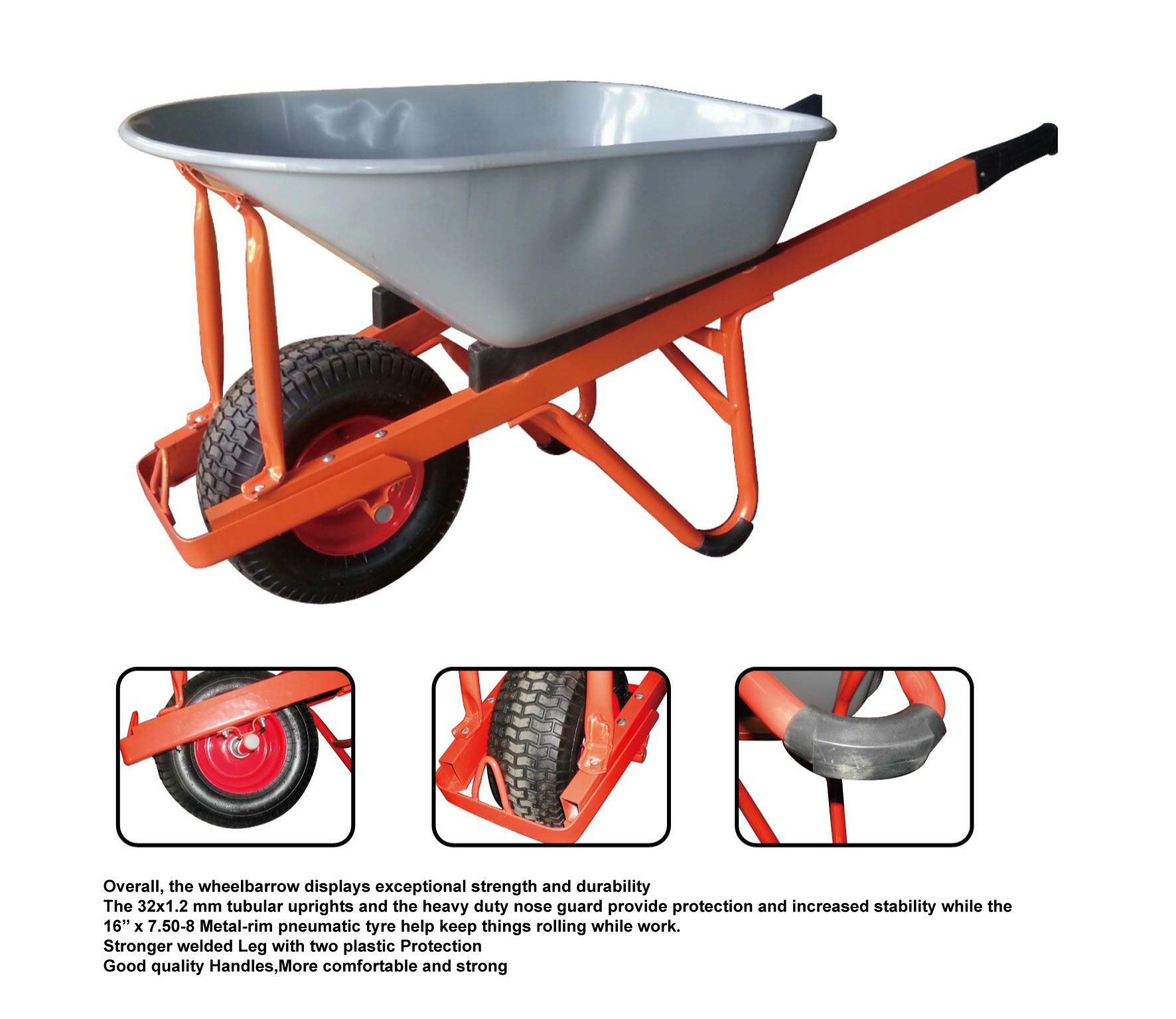 Heavy Duty Wheelbarrow We Passed Bsci And Iso9001 Wheelbarrow Heavy Duty Wheelbarrow Wheelbarrow Wheels