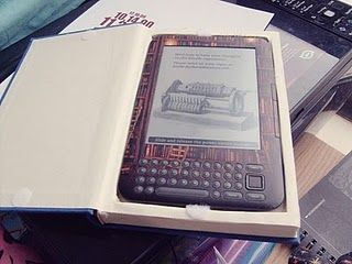 This is an awesome idea for a Kindle cover!