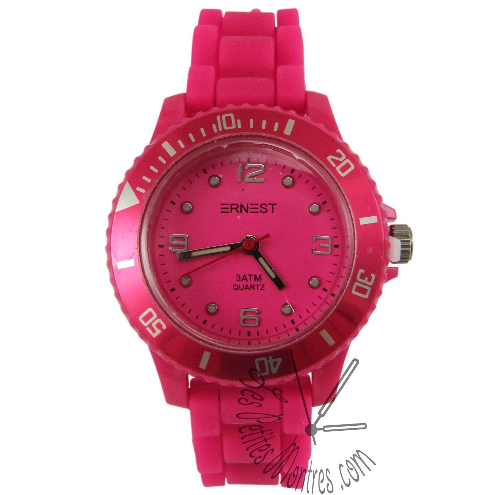 montre enfant etanche et bracelet rose les petites montres montres pinterest. Black Bedroom Furniture Sets. Home Design Ideas