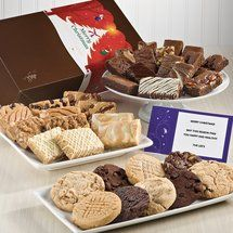 Christmas Ultimate Bar, Sprite & Cookie Combo | Christmas Gourmet Brownie and Cookie Gift Baskets Delivered