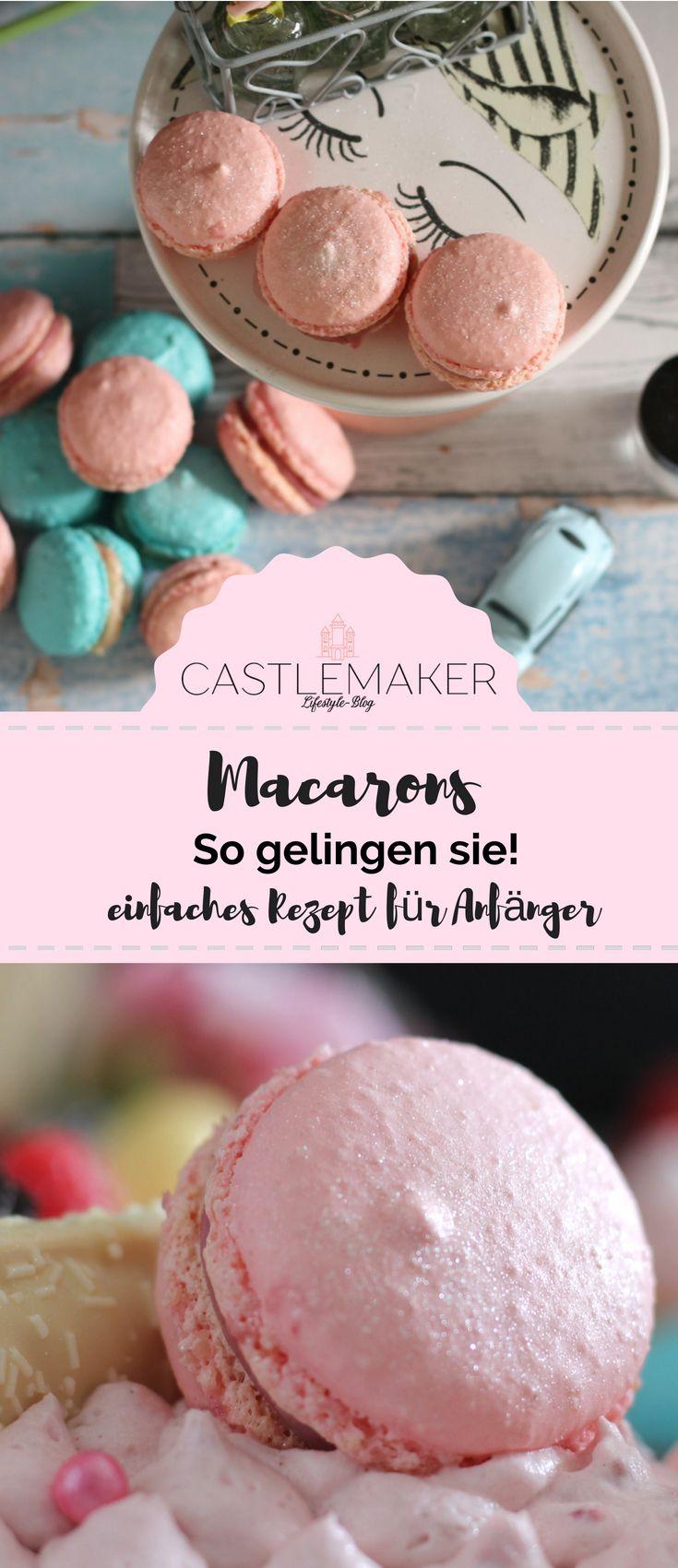 REZEPT Macarons für Anfänger - perfekt für den Number Cake oder die Candy Bar #macaronrecette
