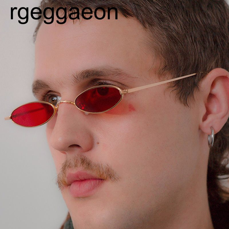 cb6bf498f806 40% Cashback + 50% OFF - reggaeon 2018 New Brand Designer Vintage Oval  Sunglasses Women Men Retro Clear Lens Eyewear Sun Glasses For Female UV400  -  2.99