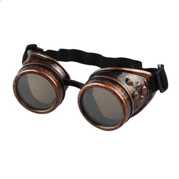 Unique Stylish Men Women Sunglasses Vintage Steampunk Goggles Punk Sun Glasses Welding Cyber Punk Gothic Costume SoBu8HH