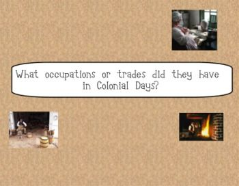 colonial trades for kids