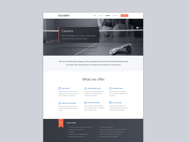 Careers Website Hiring Positions Career Website Web Design