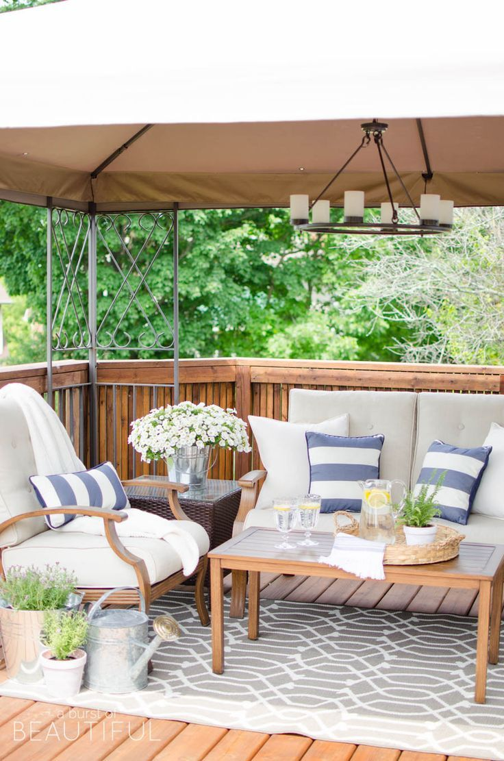 How to Revive a Wood Deck | Patio, Patio design ... on Ab And Outdoor Living id=55376