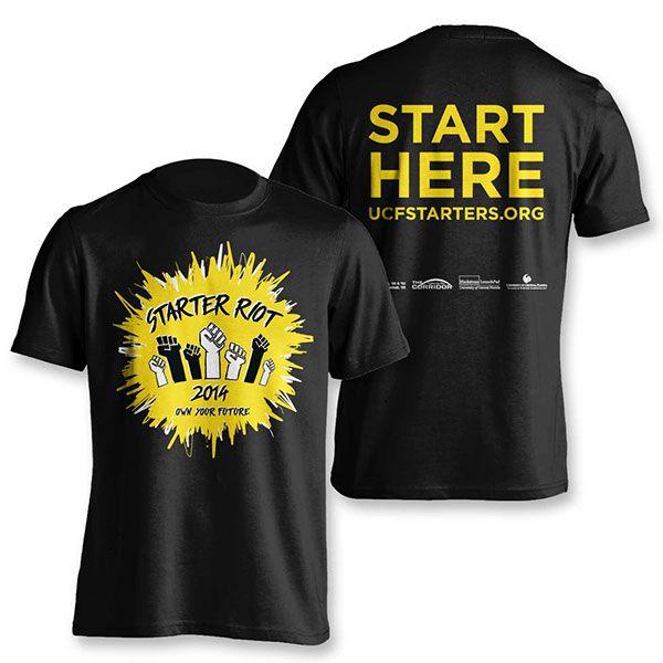 Starter Riot Campaign on Behance - t-shirt design