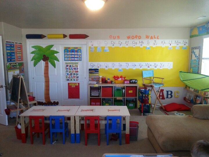 In Home Preschool Home Daycare Pinterest Daycare Ideas