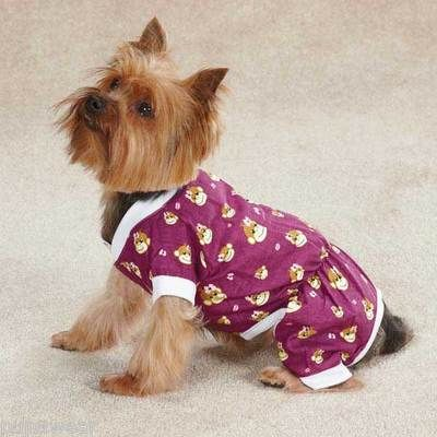 X Small Dog Pajamas Chihuahua Toy Poodle Yorkie Dog Pjs Monkey