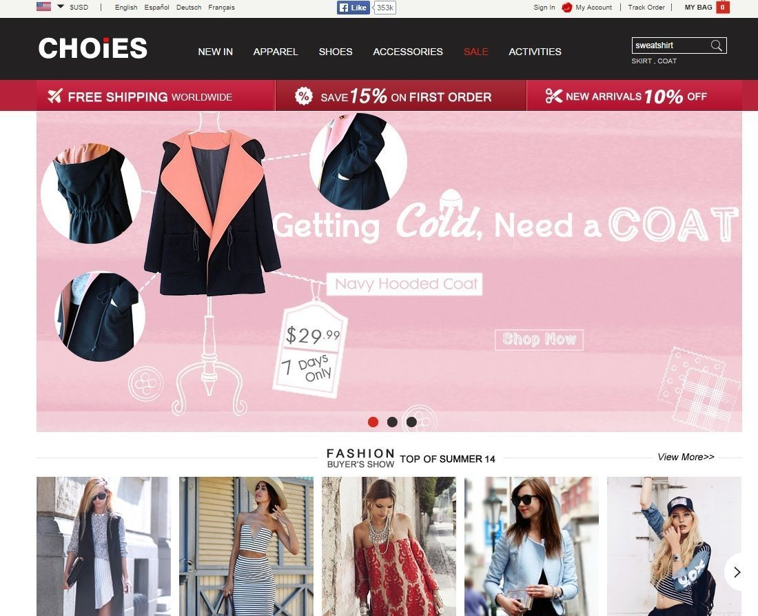 Best Cheap Fashion Websites Canada