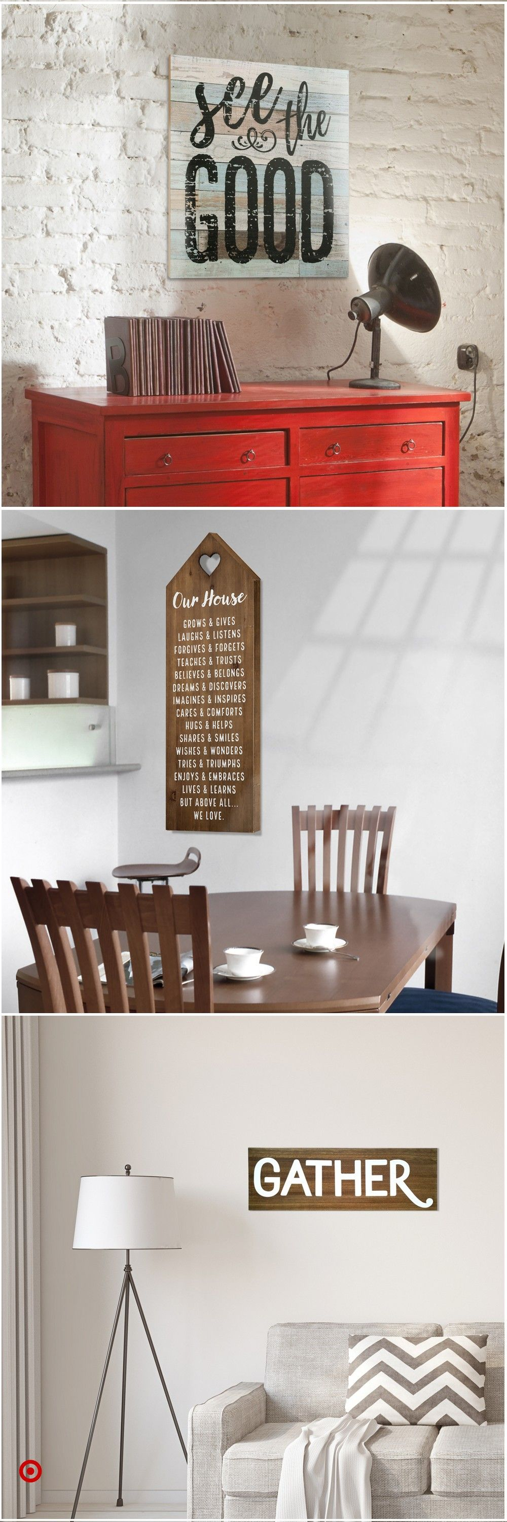 Shop Target for wall & sign & panels you will love at