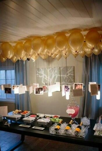 Floating Memories 75 Birthday Party Ideas 70th For Mom Decorations